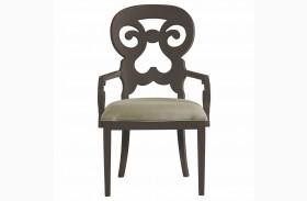 Coastal Living Gloucester Grey Wayfarer Arm Chair
