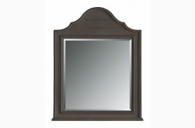 Coastal Living Gloucester Grey Arch Top Mirror