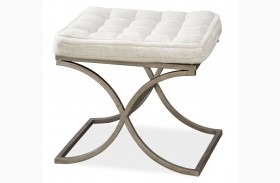 Moderne Muse Bisque Bed End Bench