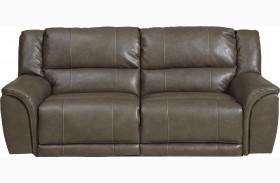 Carmine Smoke Power Reclining Sofa