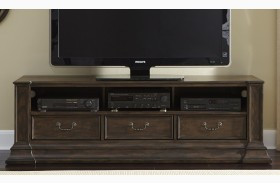 Mendenhall I Rustic Brown Entertainment TV Stand