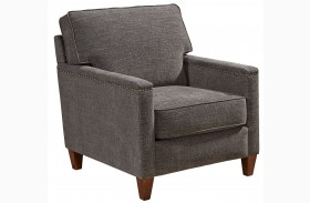 Lawson Gray Fabric Chair