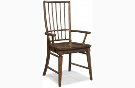 Blue Ridge Rake Back Arm Chair