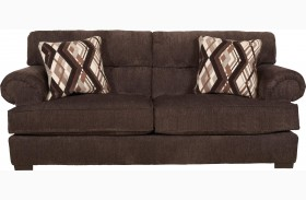 Hayden Espresso and Walnut Sofa