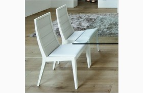 Sapphire White Chairs - Set of 2