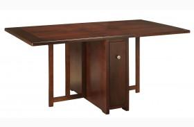 Studio Brown Mahogany Drop Leaf Gate Leg table