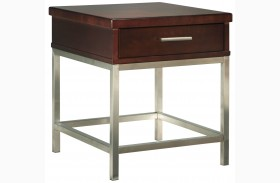 Soho Dark Brown End Table