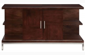 Soho Dark Brown Entertainment Console