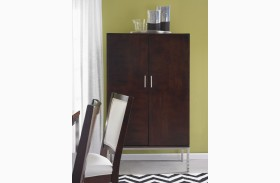 Soho Dark Brown Storage Cabinet