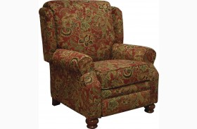 Belmont Red Reclining Chair