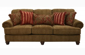 Belmont Umber Sofa