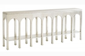 Crestaire Argent Brooks Console Table