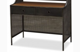 Smartstuff Black Metal Desk