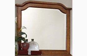 Arrendelle Antique Cherry Arch Mirror