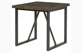 District Rectangular End Table