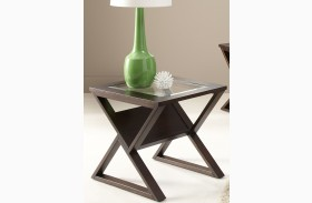 Madison Coffee Bean End Table