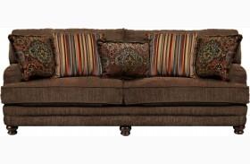 Brennan Auburn Sofa
