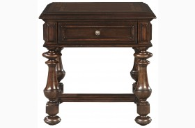 Casa D'Onore Sella Square End Table
