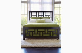 Perspectives Lattice Queen Low Profile Bed