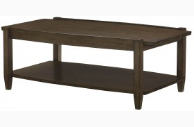 Alba Graphite Oak Rectangular Cocktail Table