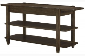 Alba Graphite Oak Sofa Table