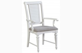 Seabrooke Upholstered Seat Arm Chair
