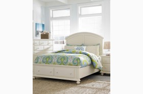 Seabrooke Twin Panle Storage Bed