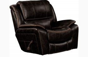 Beckett Black Rocker Recliner