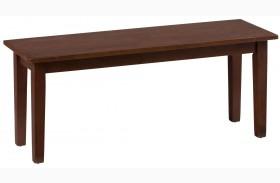 Simplicity Caramel Bench