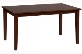 Simplicity Caramel Rectangular Dining Table