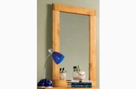 Wrangle Hill Amber Wash Mirror