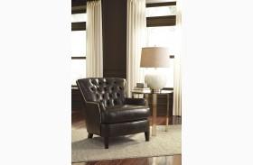 Jonette Black Accent Chair