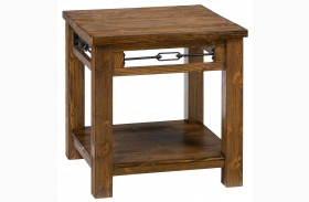 San Marcos Rectangular End Table