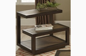 Bennett Pointe Smokey Tan End Table