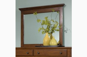 Hayden Place Light Cherry Landscape Mirror