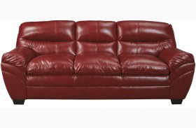 Tassler Durablend Crimson Sofa