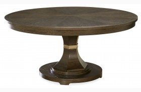 California Hollywood Hills Round Extendable Dining Table
