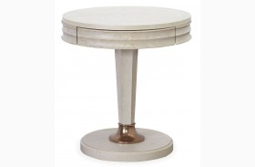 California Malibu Round End Table