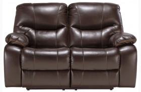 Pranas Brindle Reclining Loveseat