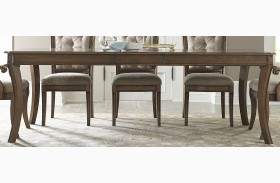 Amelia Antique Toffee Rectangular Extendable Leg Dining Table