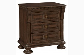 Lyla 3 Drawer Nightstand