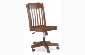 Big Sur Saddle Brown Desk Chair
