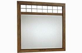 Bethany Square Brown Landscape Dresser Mirror