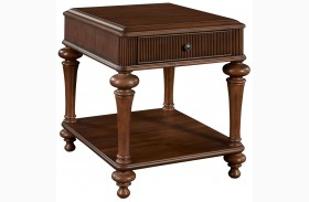 Cascade Drawer End Table