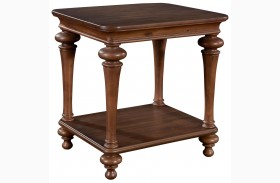 Cascade End Table