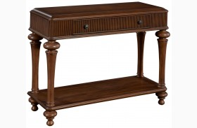 Cascade Library Console Table