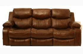 Dallas Tobacco Power Reclining Sofa