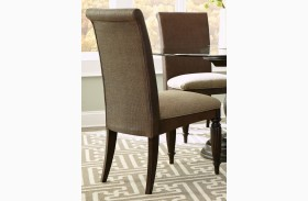 Jessa Upholstered Woven Side Chair Set of 2