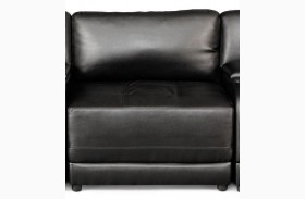 Kayson Black Armless Chair
