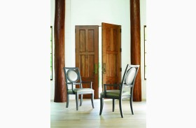 Tower Suite Moonstone Upholstered Back Arm Chair Set of 2